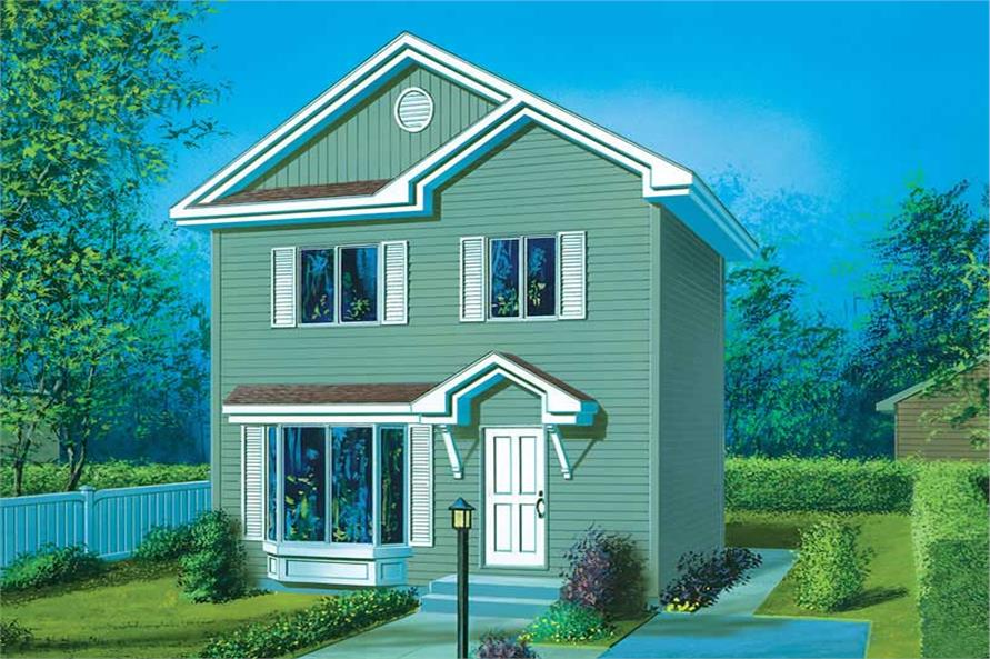 Main image for house plan # 12359