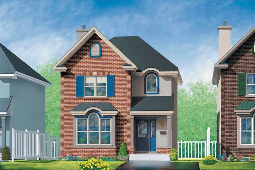 Main image for house plan # 12511