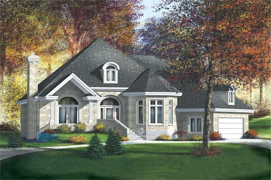 Main image for house plan # 12164