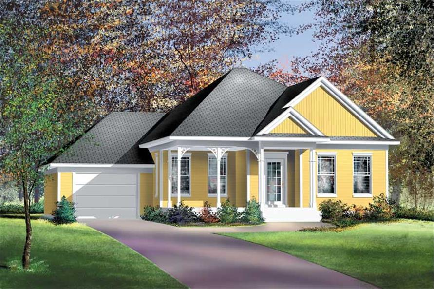 Main image for house plan # 12182