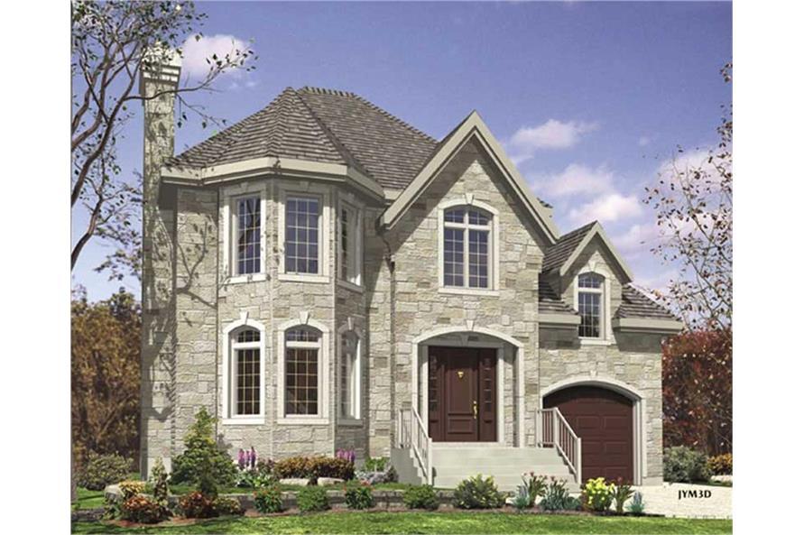 158-1053: Home Plan Rendering