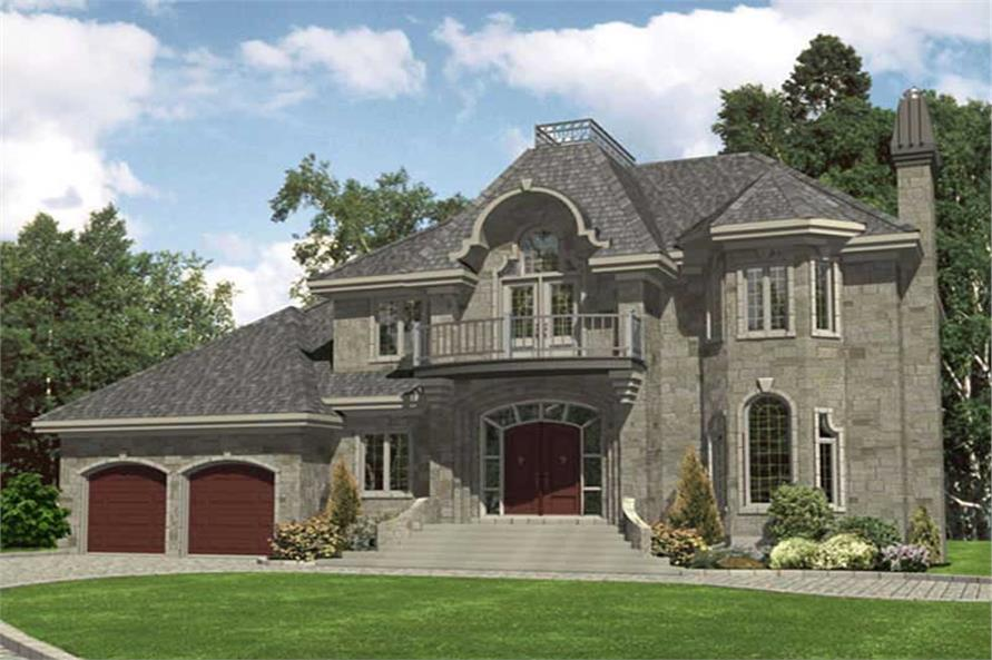 Main image for house plan # 9345