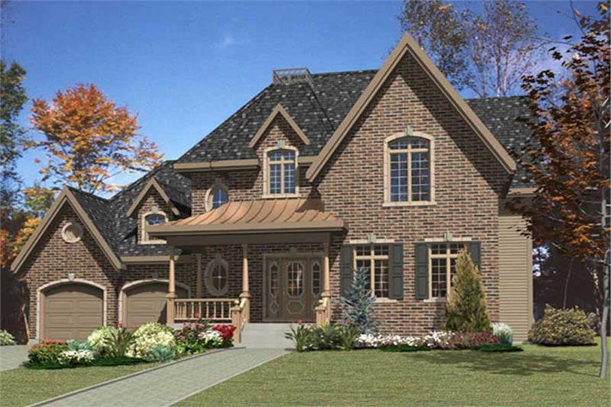 Main image for house plan # 9369