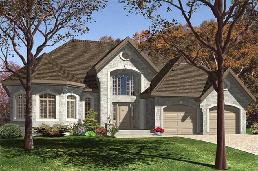 Main image for house plan # 9370