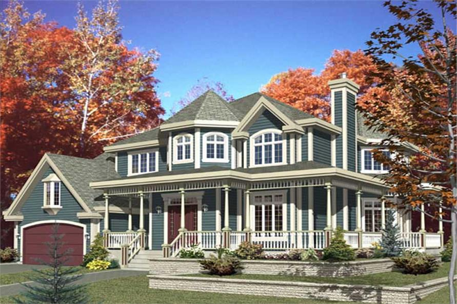 Main image for house plan # 9378