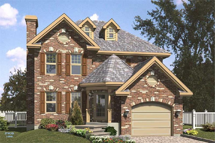 Main image for house plan # 9350