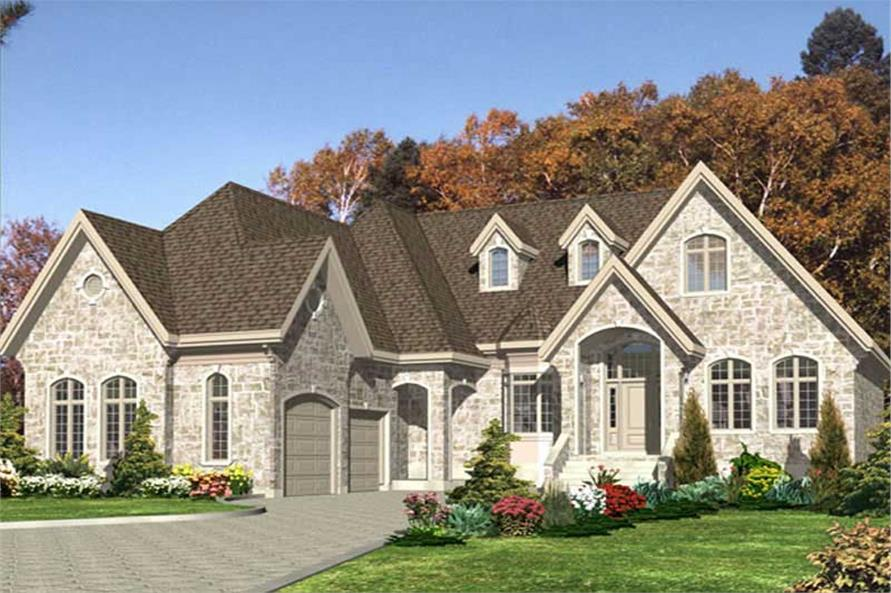 Main image for house plan # 9381