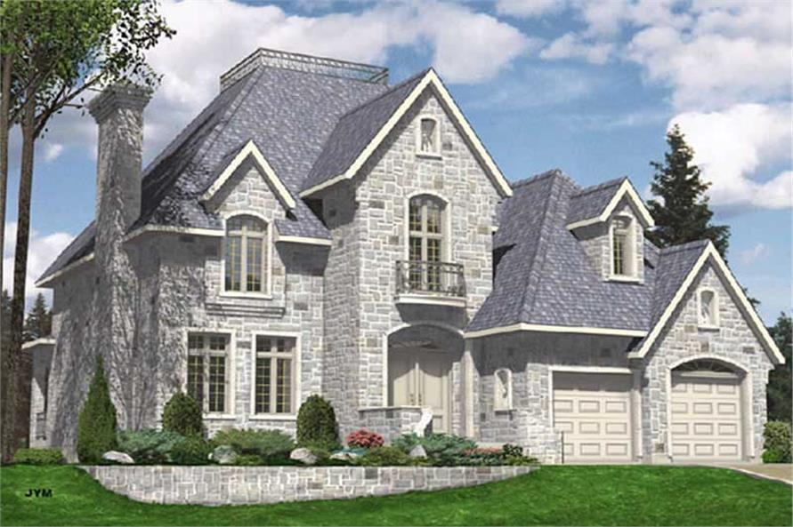 Main image for house plan # 9339