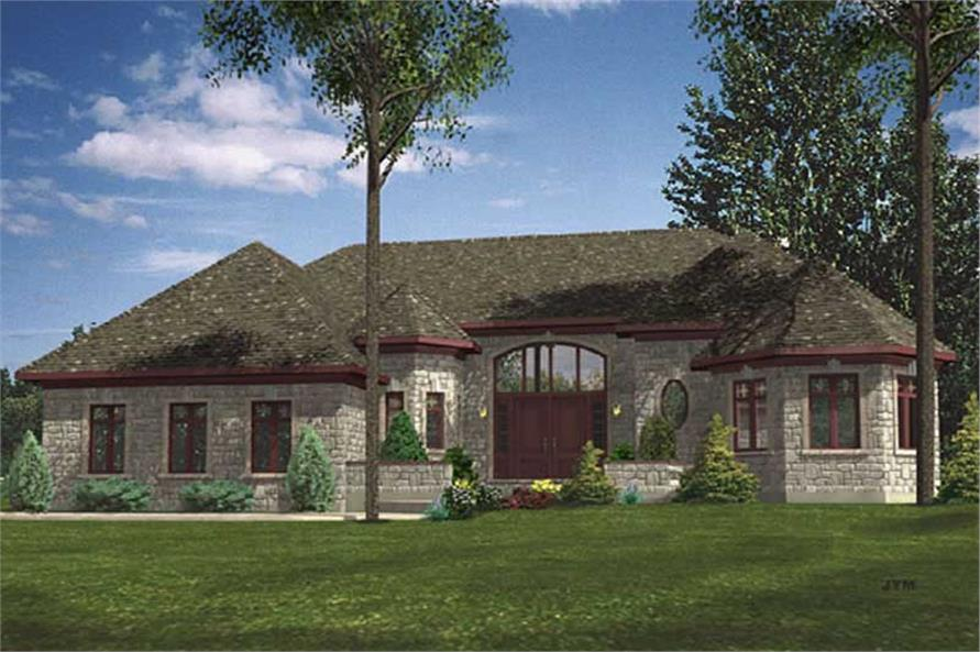 Main image for house plan # 9343