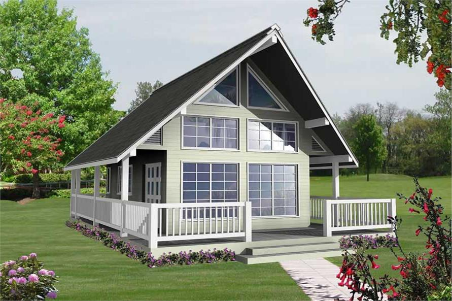 Main image for house plan # 17835