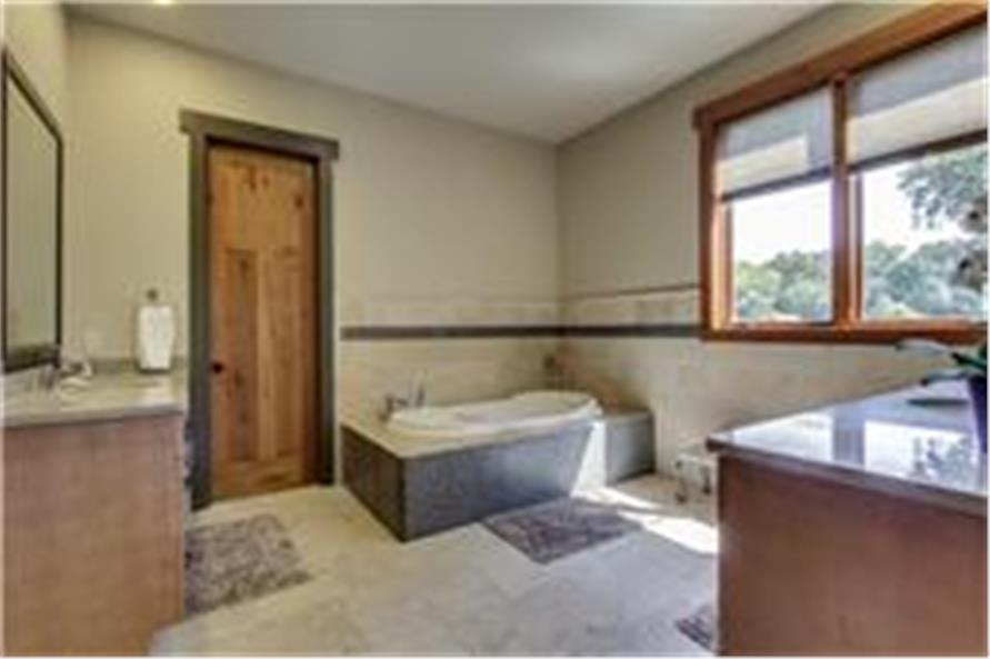 161-1003: Home Interior Photograph-Master Bathroom