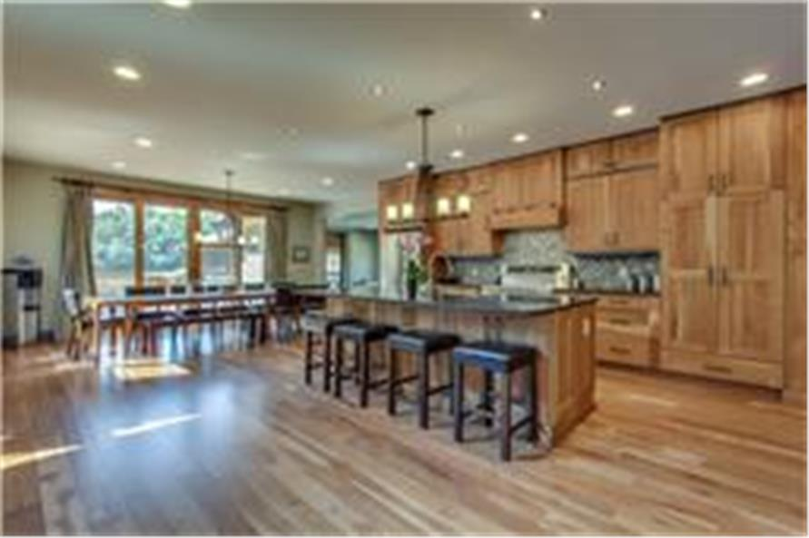 161-1003: Home Interior Photograph-Kitchen