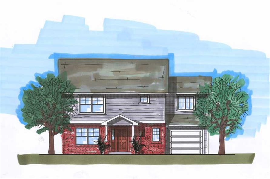 Main image for house plan # 20445