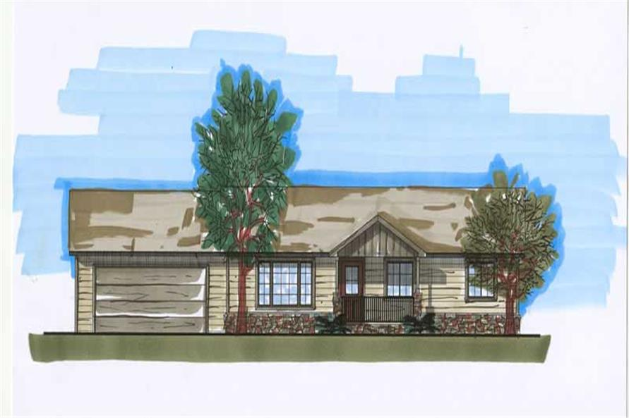 Main image for house plan # 20430
