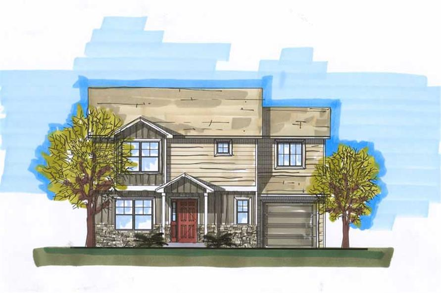 Main image for house plan # 20444