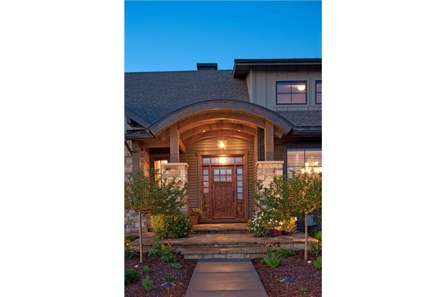 161-1054: Home Exterior Photograph-Front Door