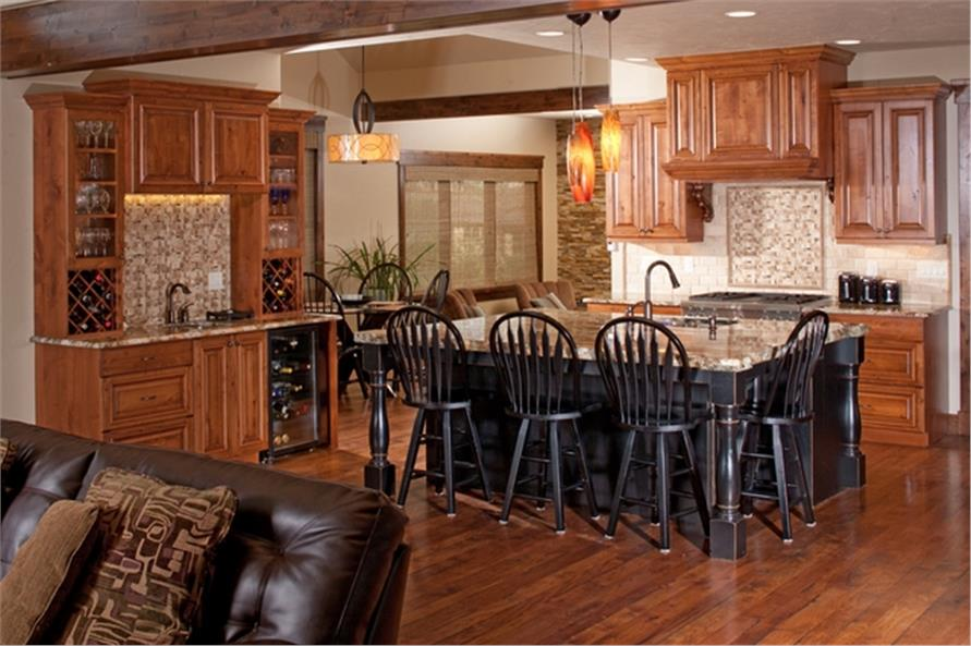 161-1054: Home Interior Photograph-Kitchen