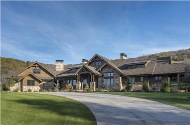 2-Bedroom, 3623 Sq Ft Rustic Ranch Home - Plan #161-1094 - Main Exterior