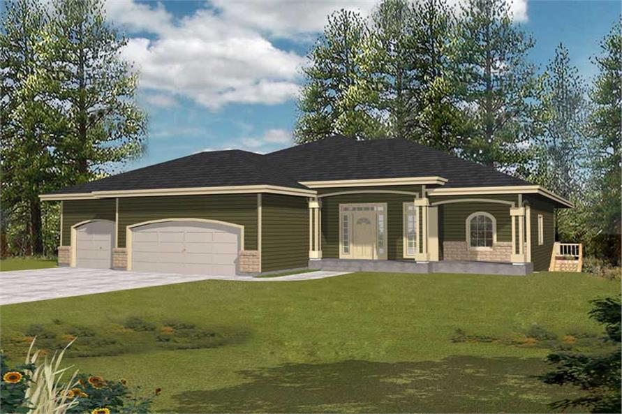 Main image for house plan # 18507