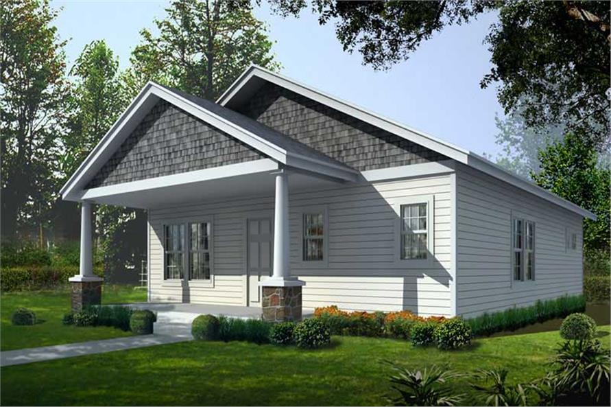 Main image for house plan # 19249