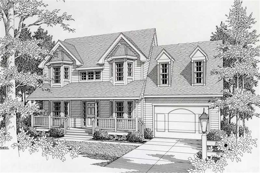Main image for house plan # 18627