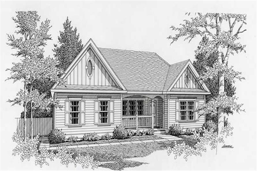 Main image for house plan # 18421