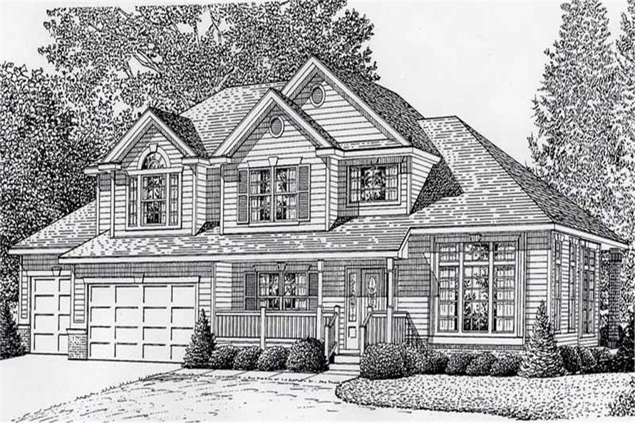 Main image for house plan # 18921