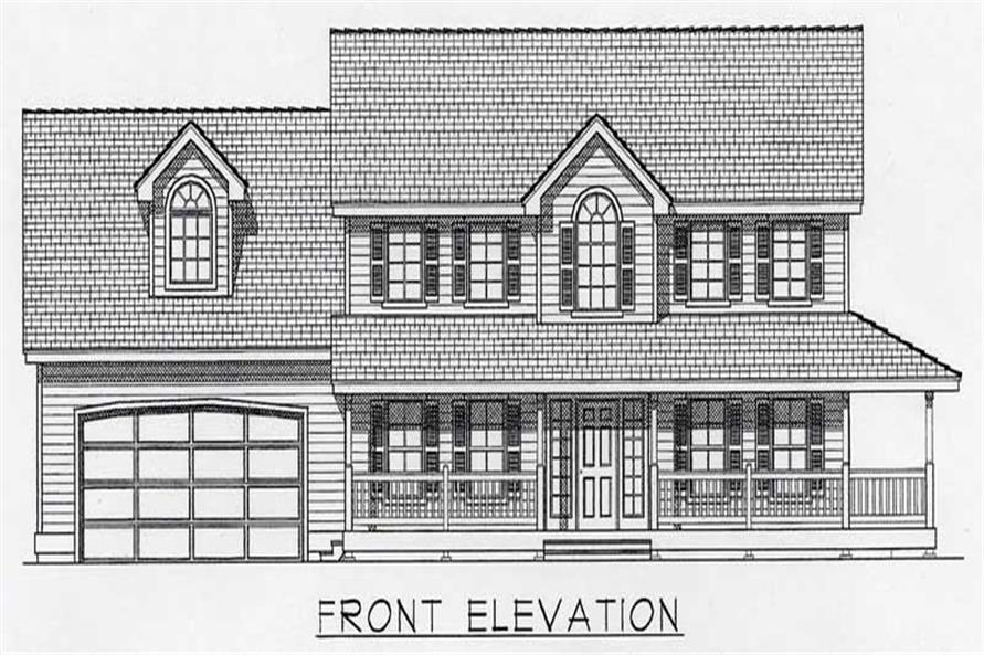 Main image for house plan # 18820