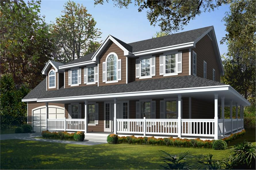 Main image for house plan # 19548
