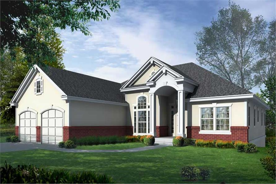 Main image for house plan # 19534