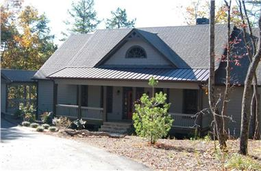 4-Bedroom, 2860 Sq Ft Country Home Plan - 163-1009 - Main Exterior