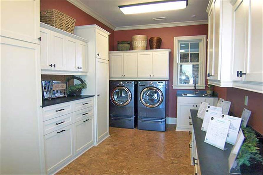 163-1047: Home Interior Photograph-Laundry Room