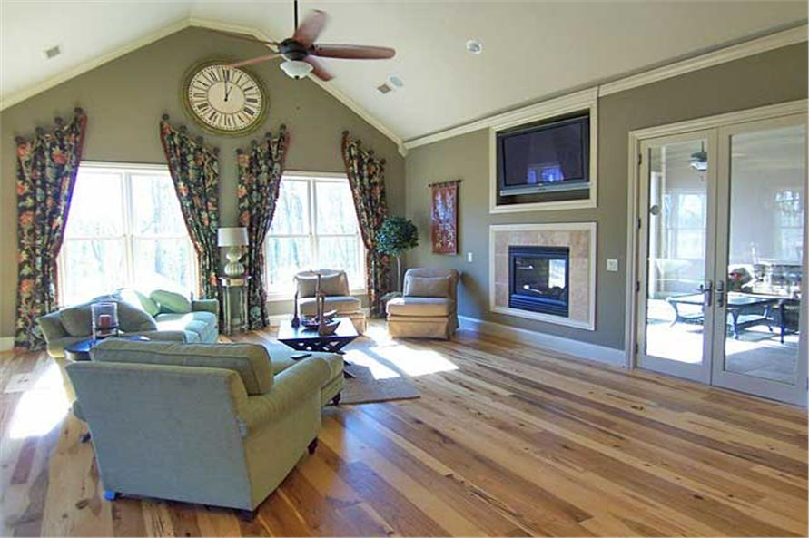 163-1047: Home Interior Photograph-Great Room