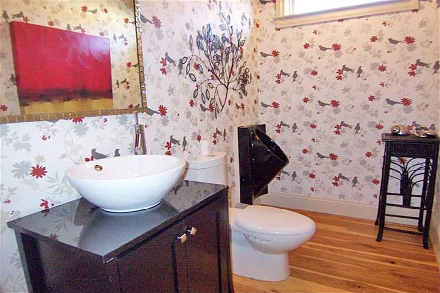 163-1047: Home Interior Photograph-Powder Room