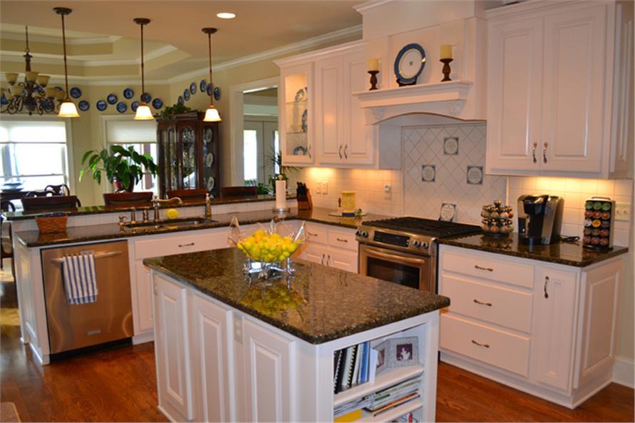 163-1055: Home Interior Photograph-Kitchen