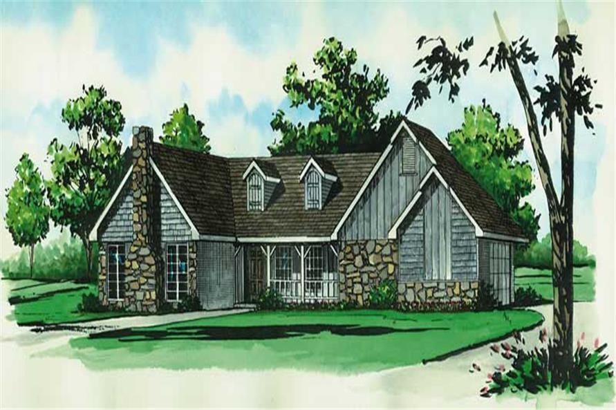 Main image for country homeplans # 1736