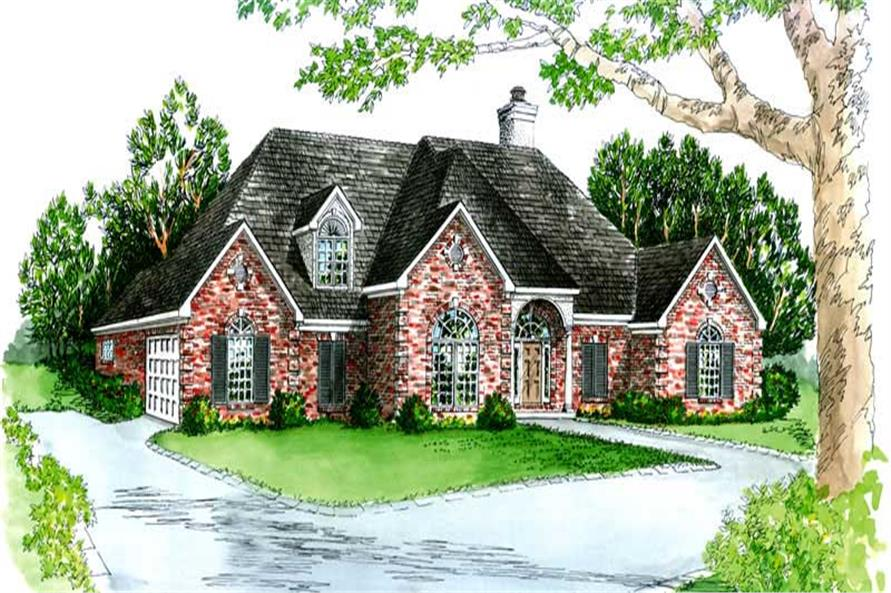 Main image for house plan # 1837