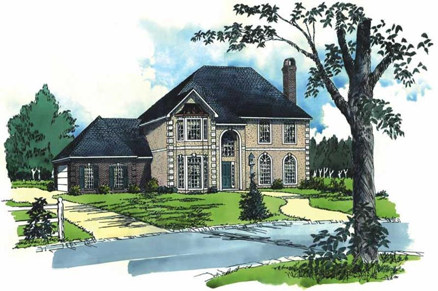 Main image for house plan # 1844