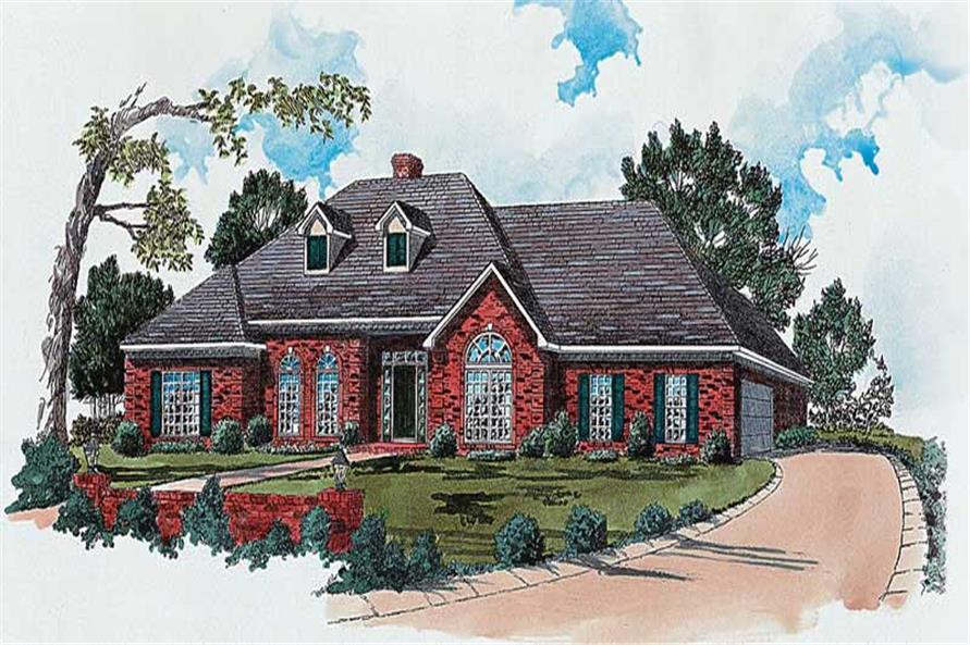 Main image for house plan # 1816