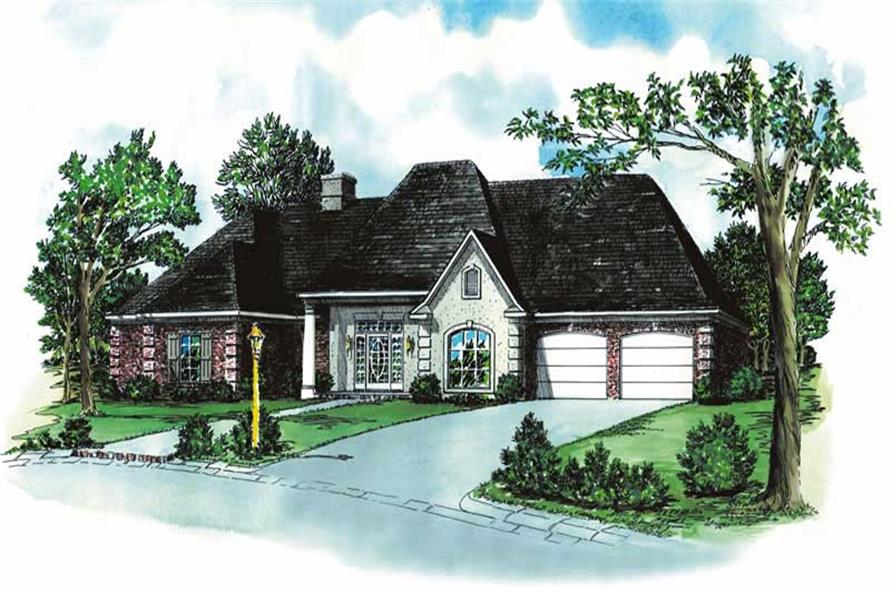 Main image for european house plan # 1836