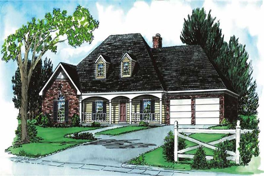 Main image for house plan # 1835