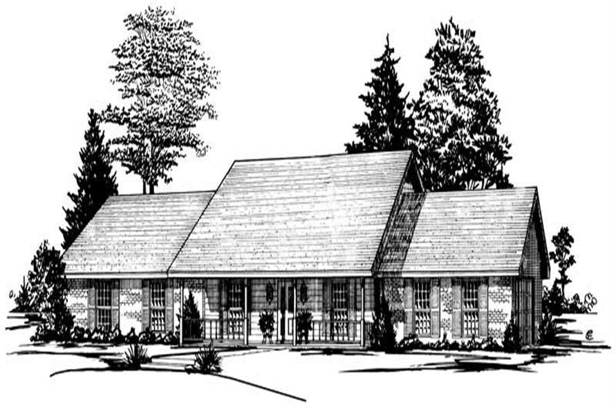 Main image for house plan # 1827