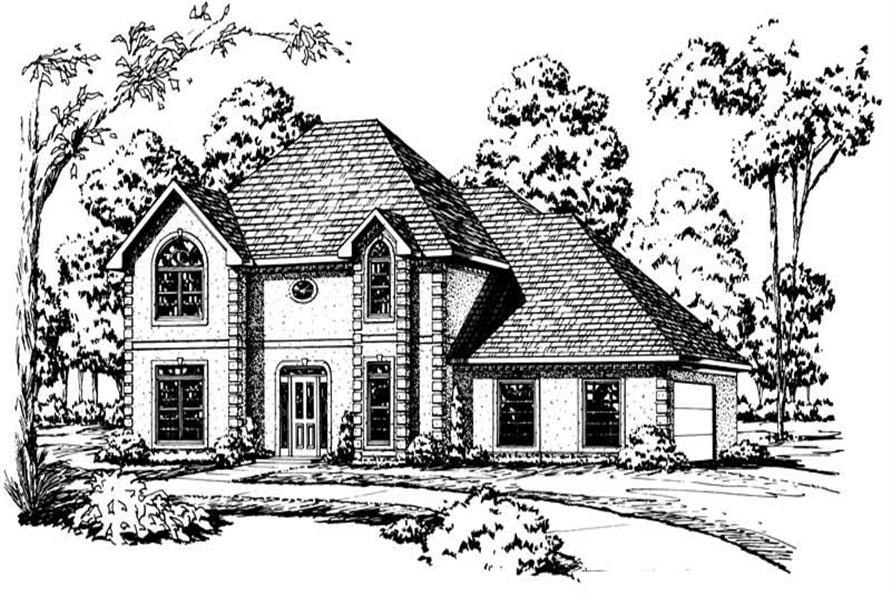 Main image for Traditional houseplans # 1899