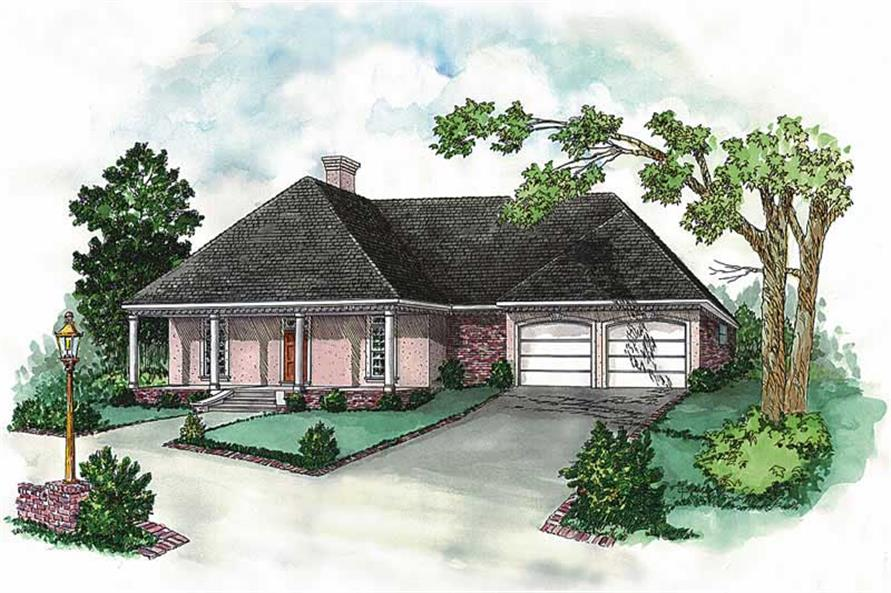 Main image for houseplans # 1813