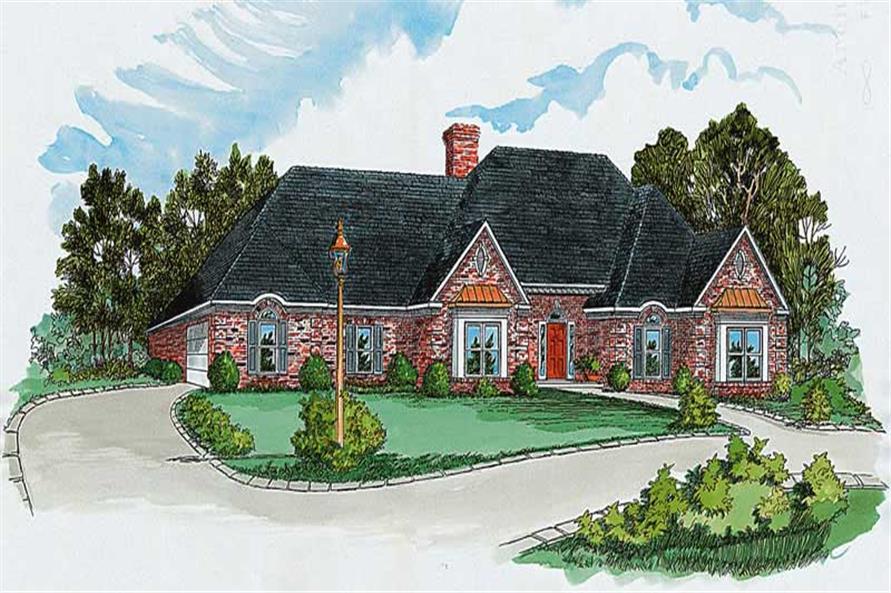 Main image for Georgian house plan # 1894