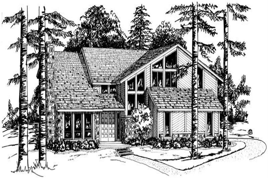 Main image for Contemporary house plan # 1879