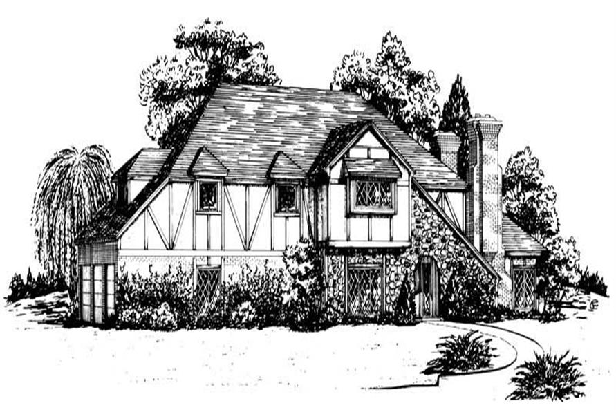 Main image for European house plan # 1880