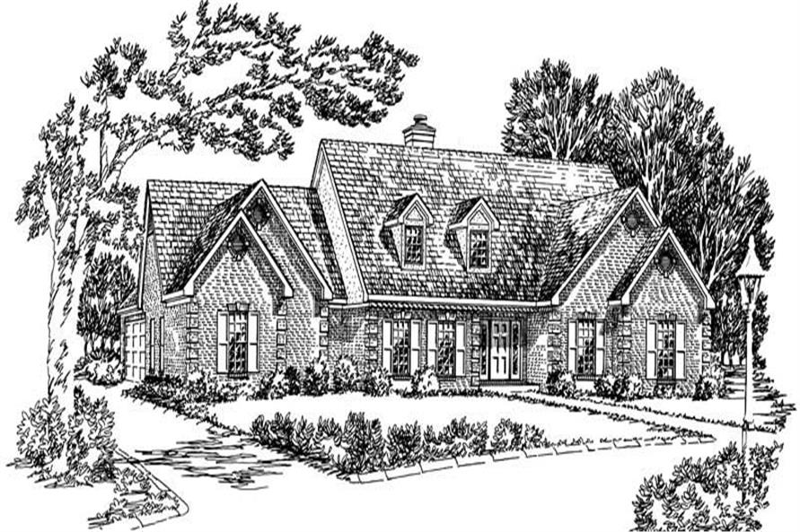 Main image for Country house plan # 1886
