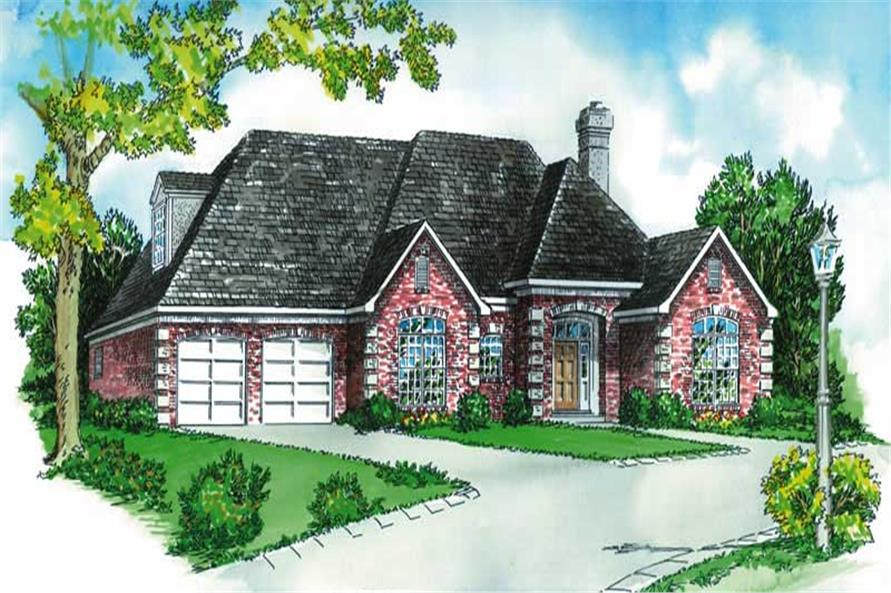 Main image for house plan # 1796
