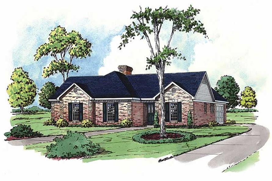 Main image for country homeplans # 1807